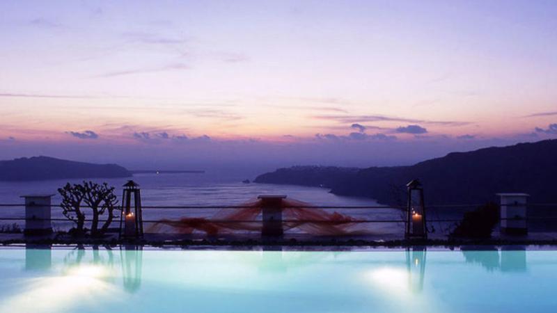 24 hours in Santorini,Greece