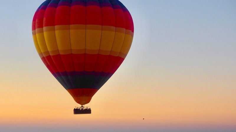 Hot Air Balloon – 24th Birthday Gift