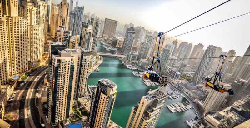 The Worlds Longest Urban Zipline + BonusVideo!