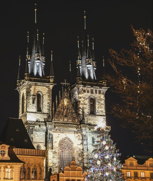 Old Town Square Prague – Church of Our Lady Before Tyn